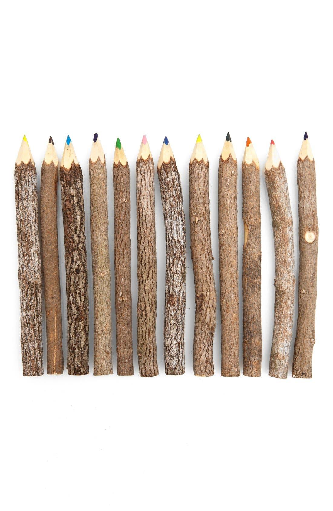 Alternate Image 2  - Poketo Reclaimed Branch Colored Pencils (Set of 12)