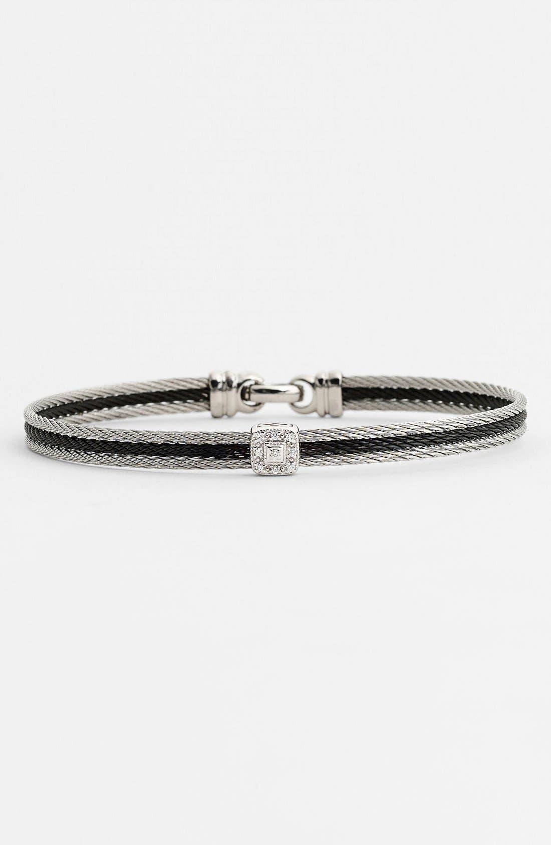 Main Image - ALOR® Diamond Station Bracelet