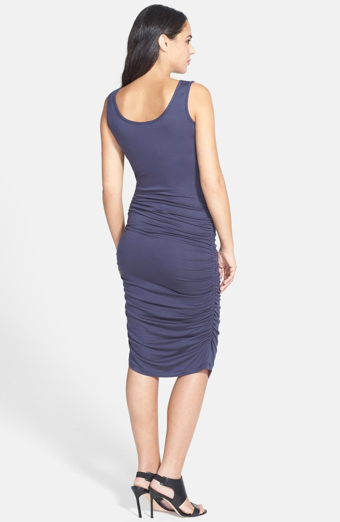Alternate Image 2  - Nom Maternity 'Stella' Jersey Maternity Dress