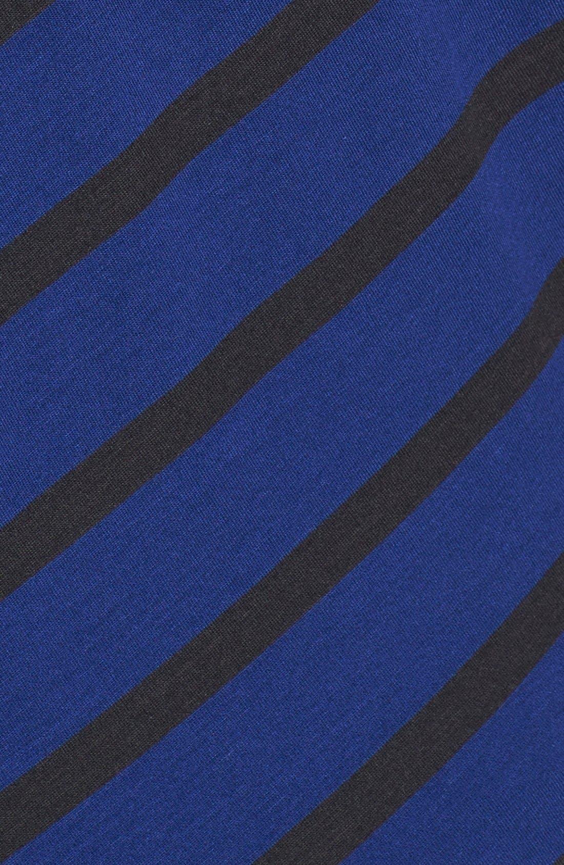 Alternate Image 3  - Sejour Stripe Block Tee (Plus Size)