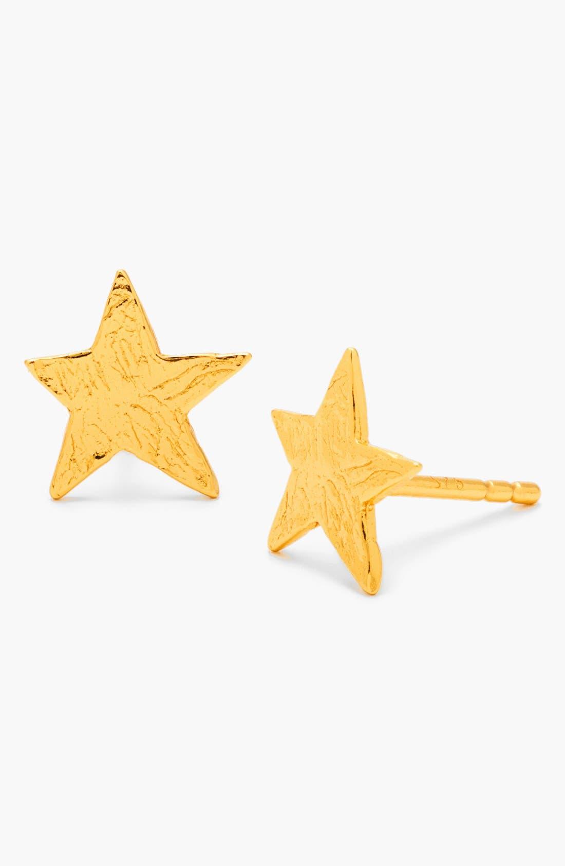 Alternate Image 1 Selected - gorjana Small Star Stud Earrings