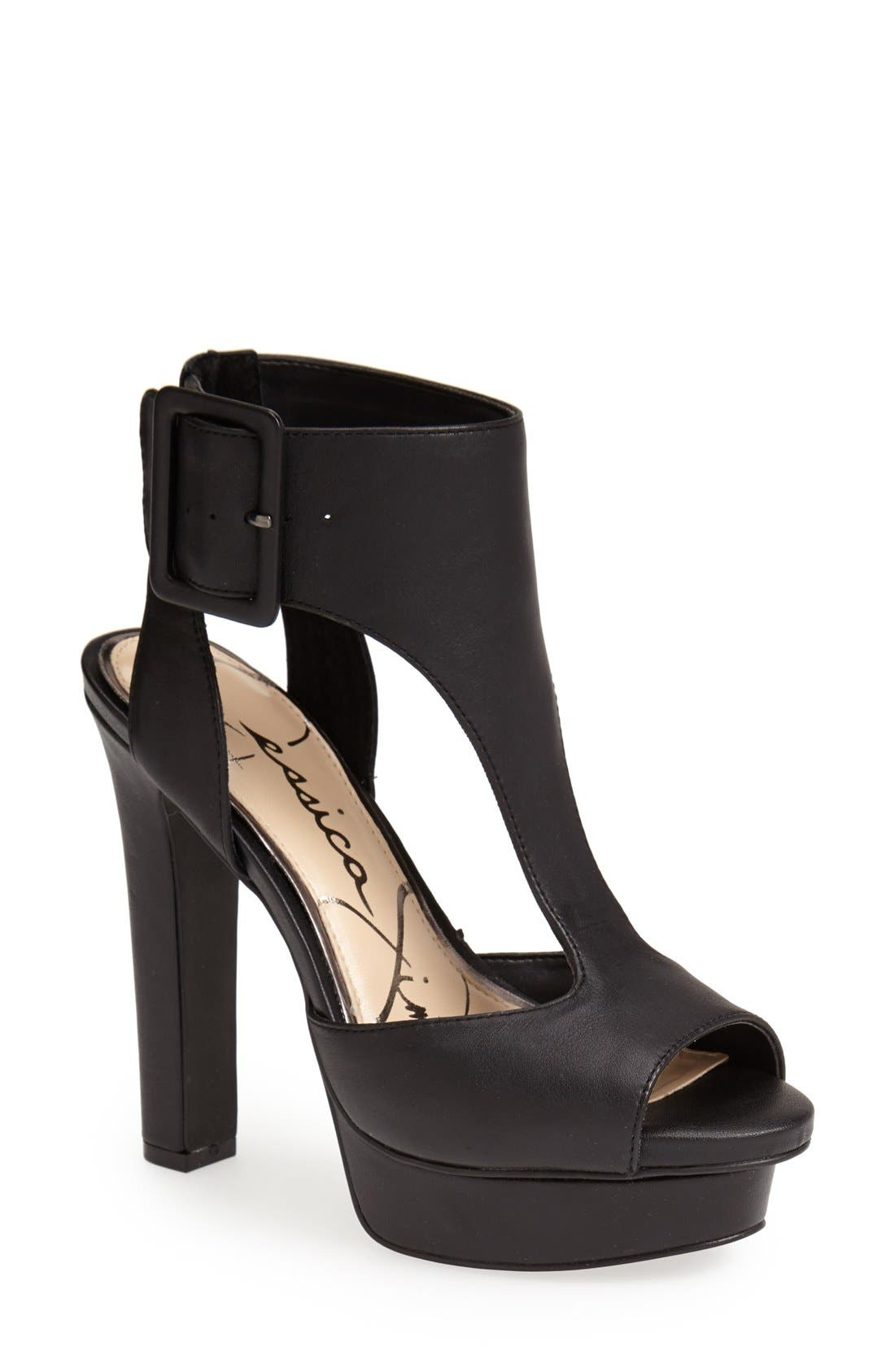 Alternate Image 1 Selected - Jessica Simpson 'Dewy' Cutout Sandal (Women)