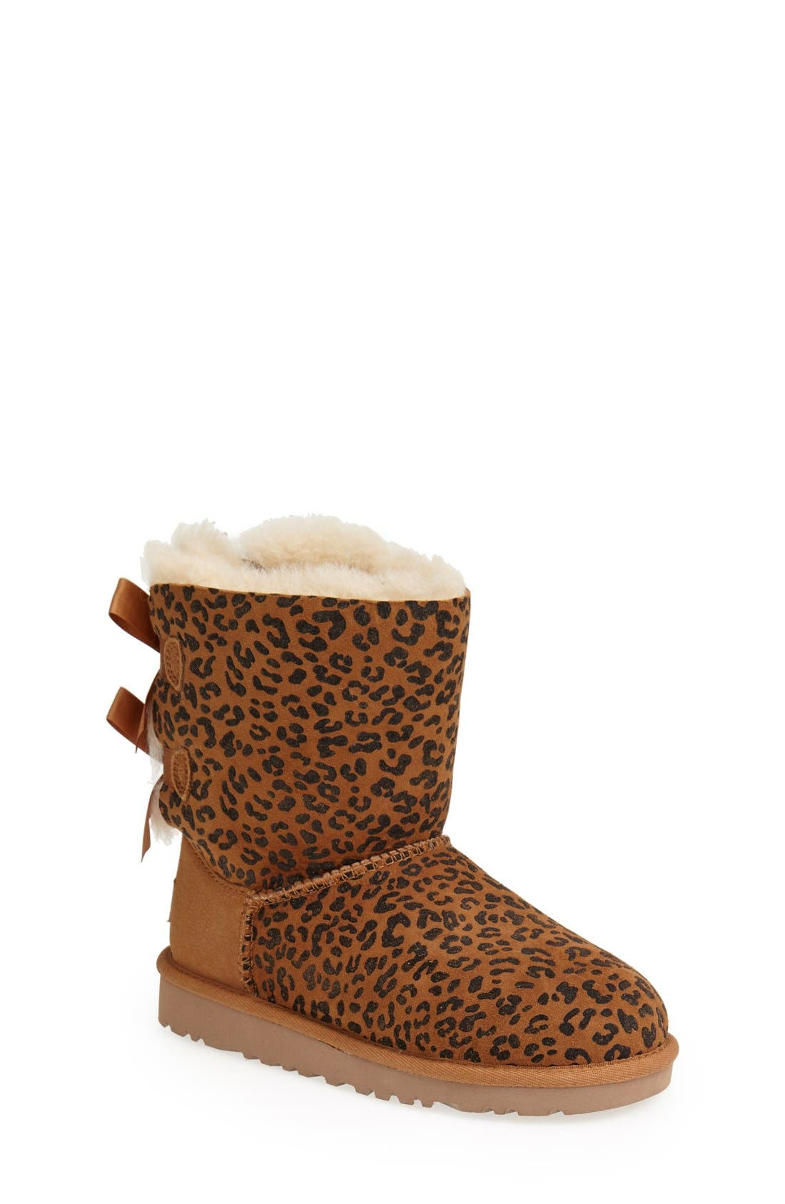 Alternate Image 1 Selected - UGG® Australia 'Bailey Bow' Boot (Walker, Toddler, Little Kid & Big Kid)
