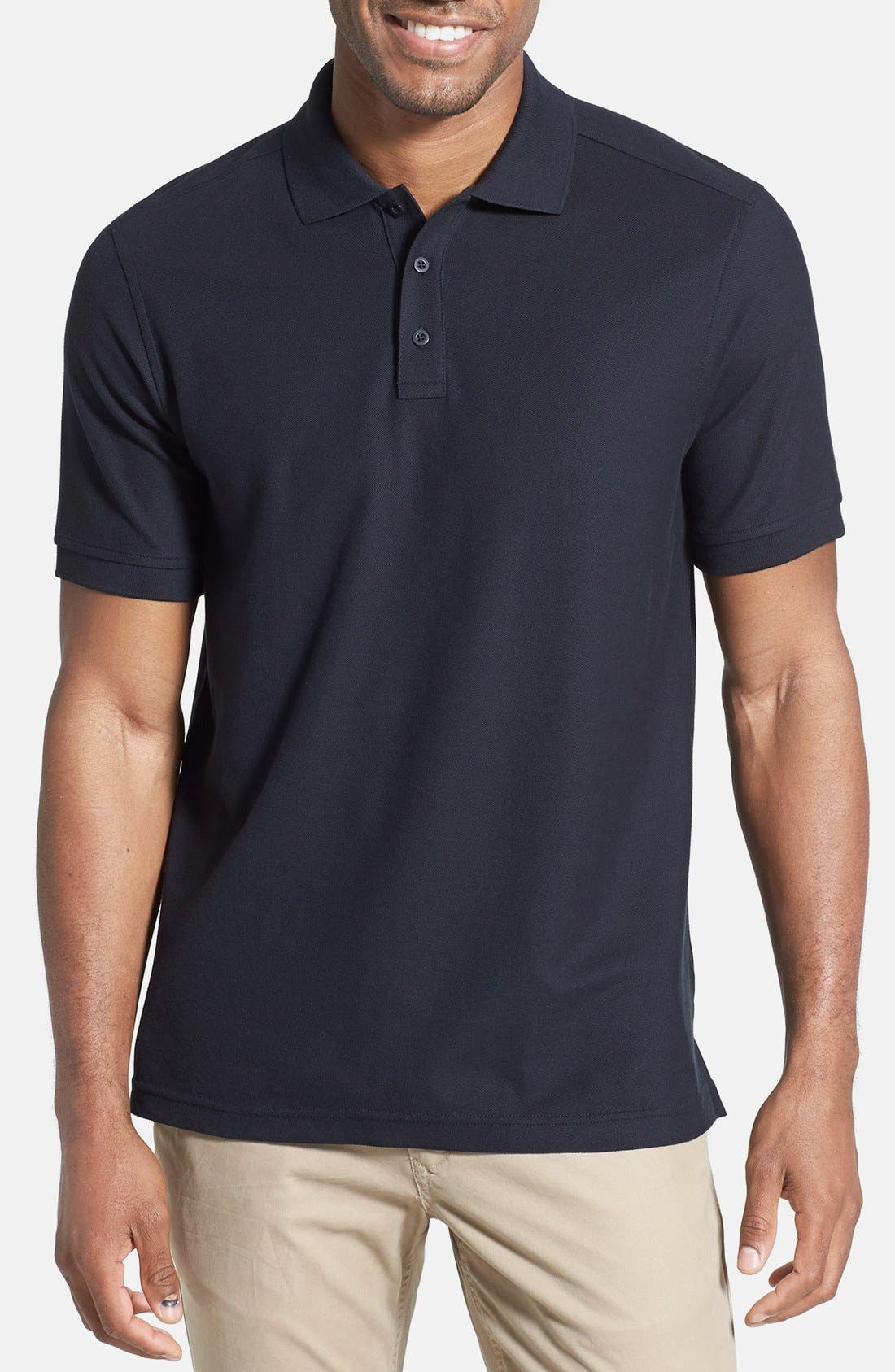 Nordstrom Men's Shop 'Classic' Regular Fit Piqué Polo