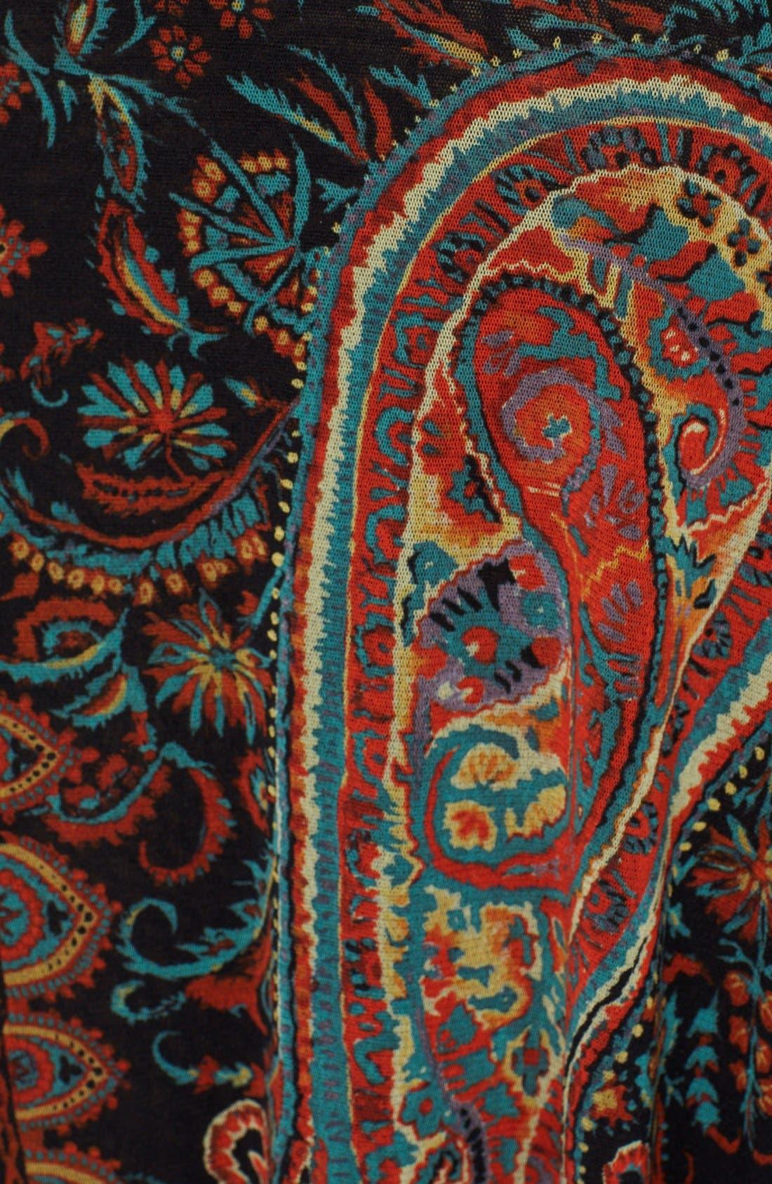 Alternate Image 3  - Jean Paul Gaultier Paisley Print Asymmetrical Tulle Skirt (Nordstrom Exclusive)