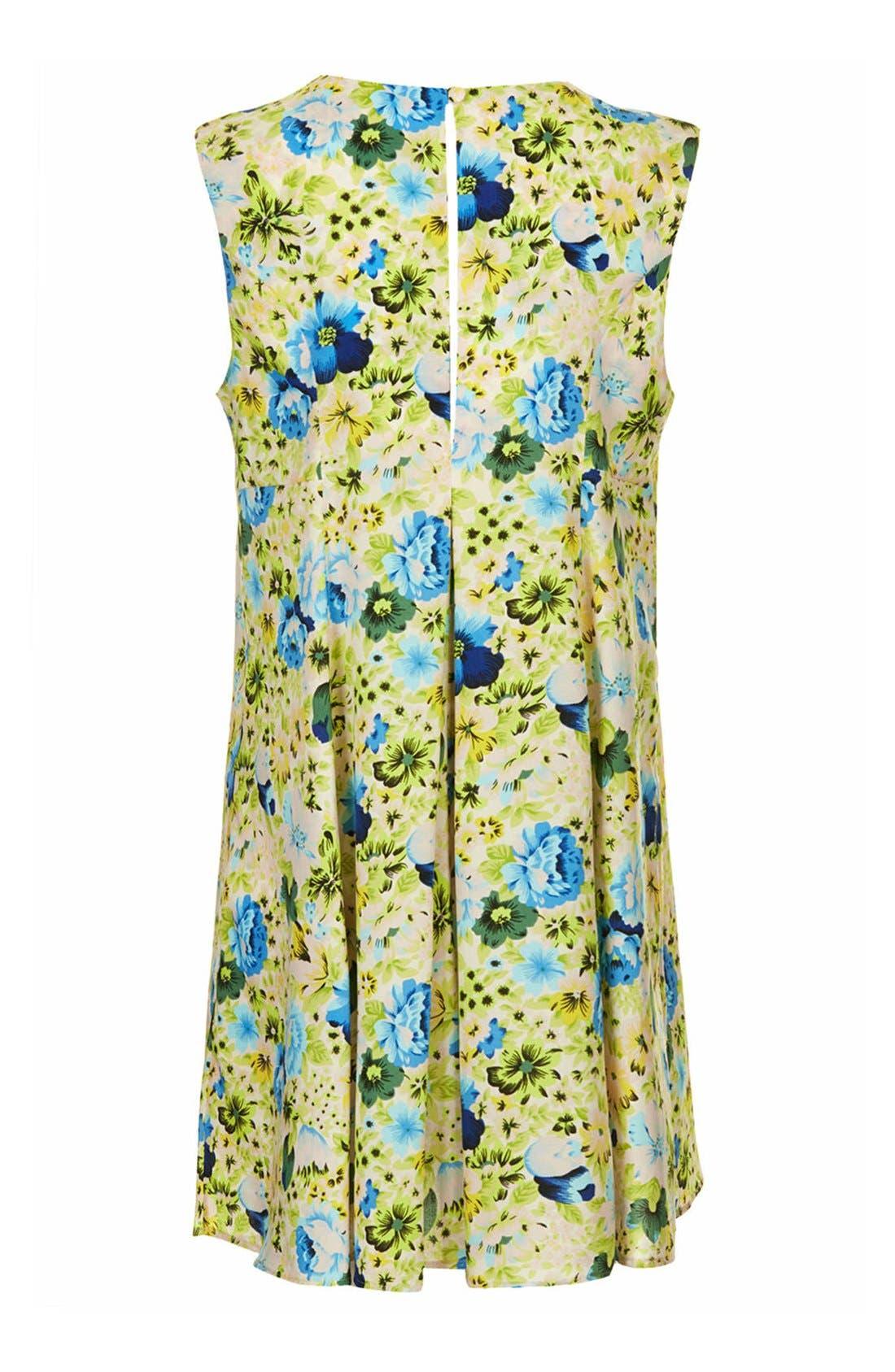 Alternate Image 2  - Topshop Floral Print Maternity Swing Dress