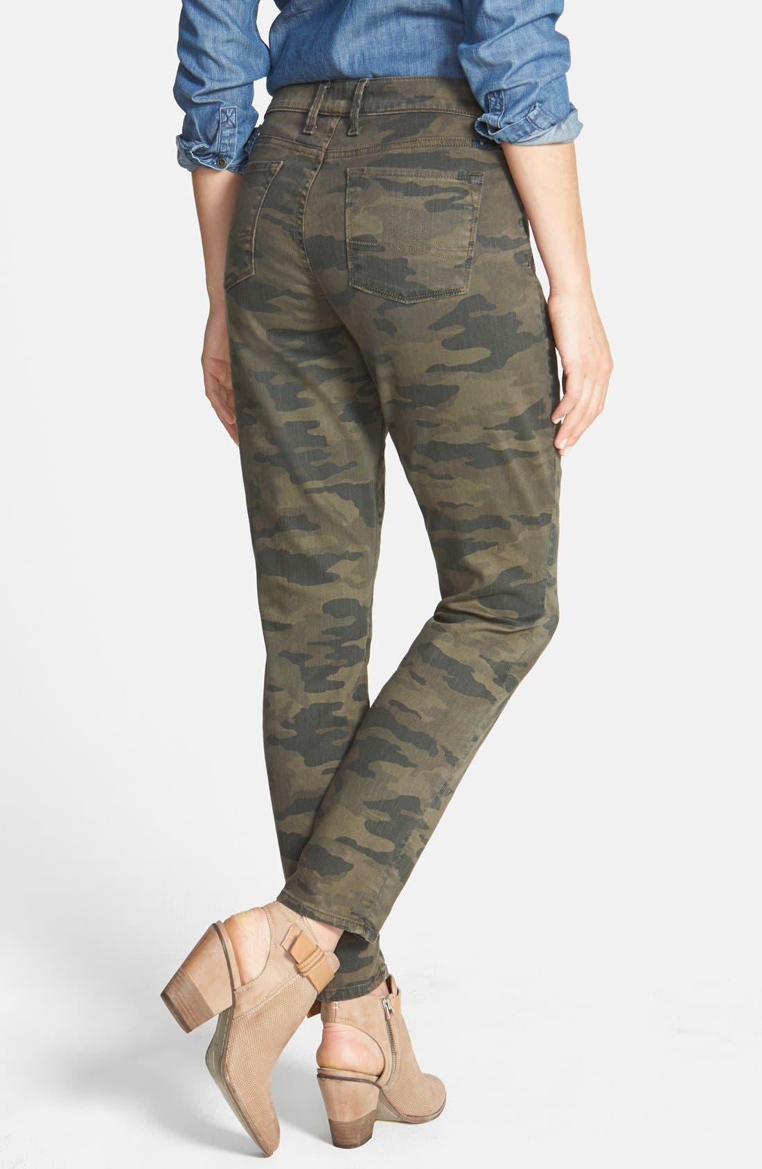 Alternate Image 2  - Lucky Brand 'Sofia' Colored Stretch Skinny Jeans