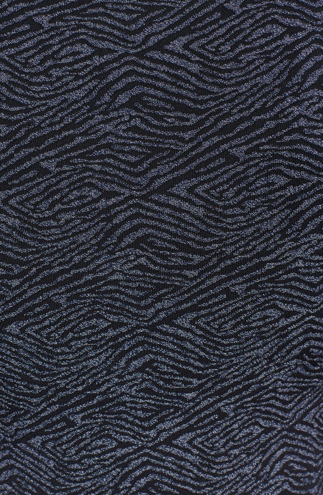 Alternate Image 3  - A.L.C. 'Deele' Jacquard Knit Dress