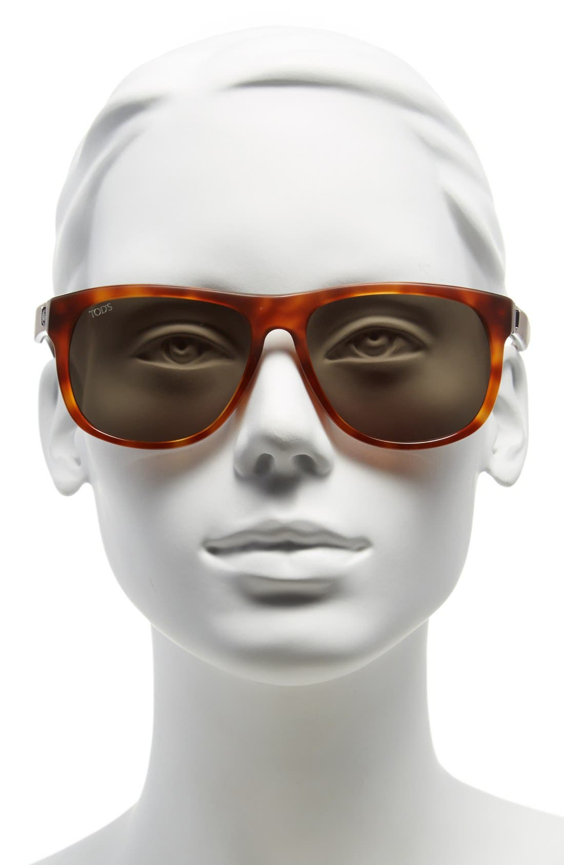 Alternate Image 2  - Tod's 58mm Retro Sunglasses