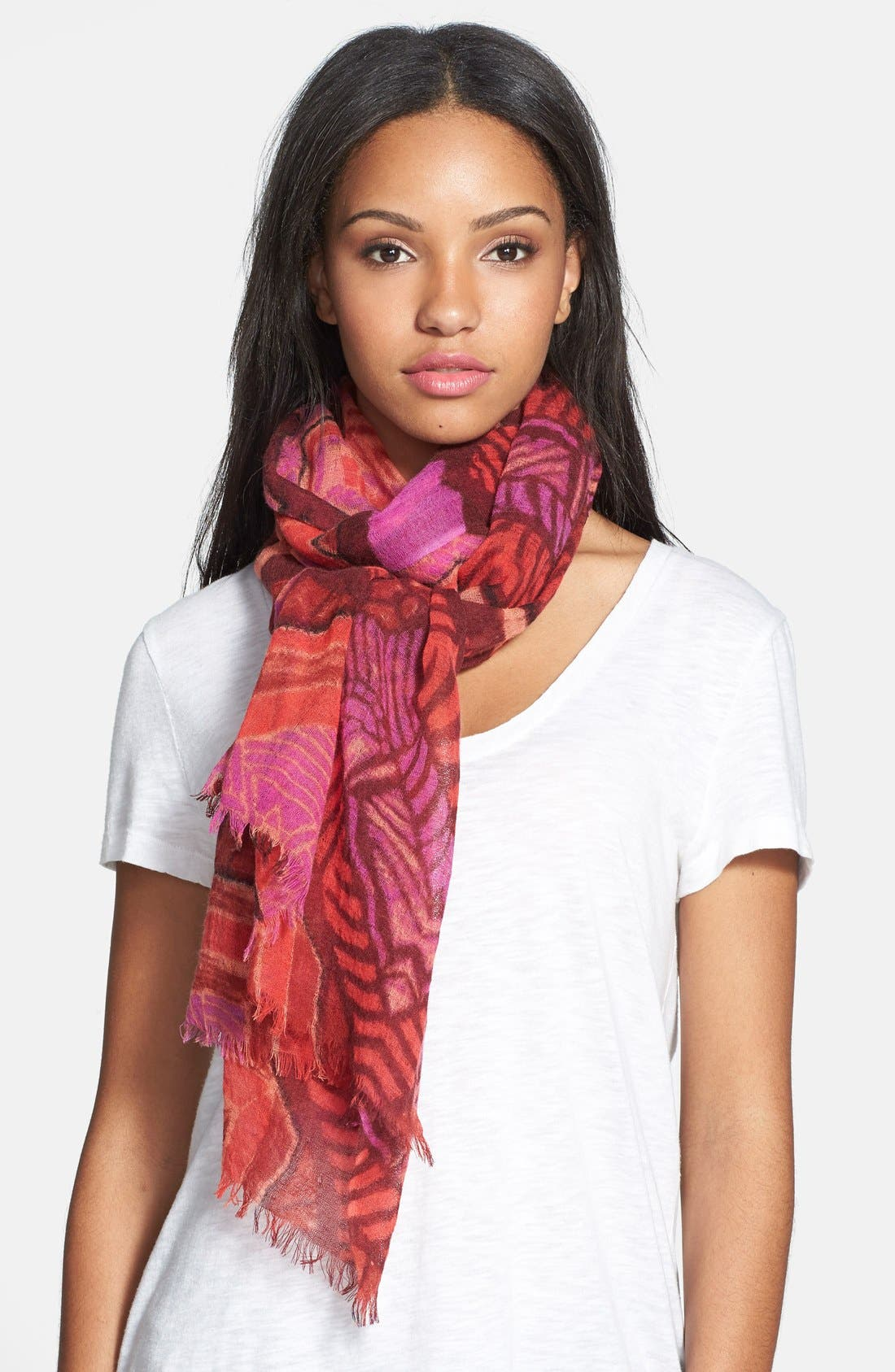 Alternate Image 1 Selected - Nordstrom 'Belle Nuit' Wool Scarf