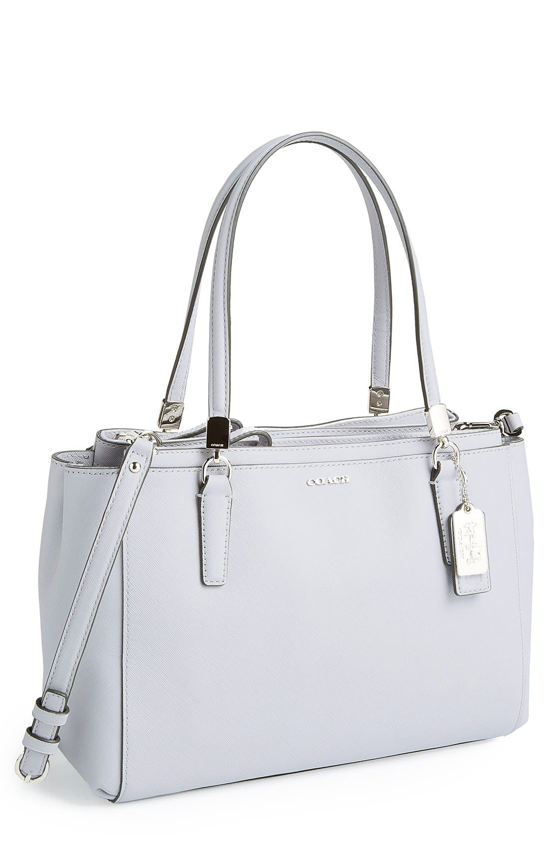 Main Image - COACH 'Madison - Small Christie' Saffiano Leather Satchel
