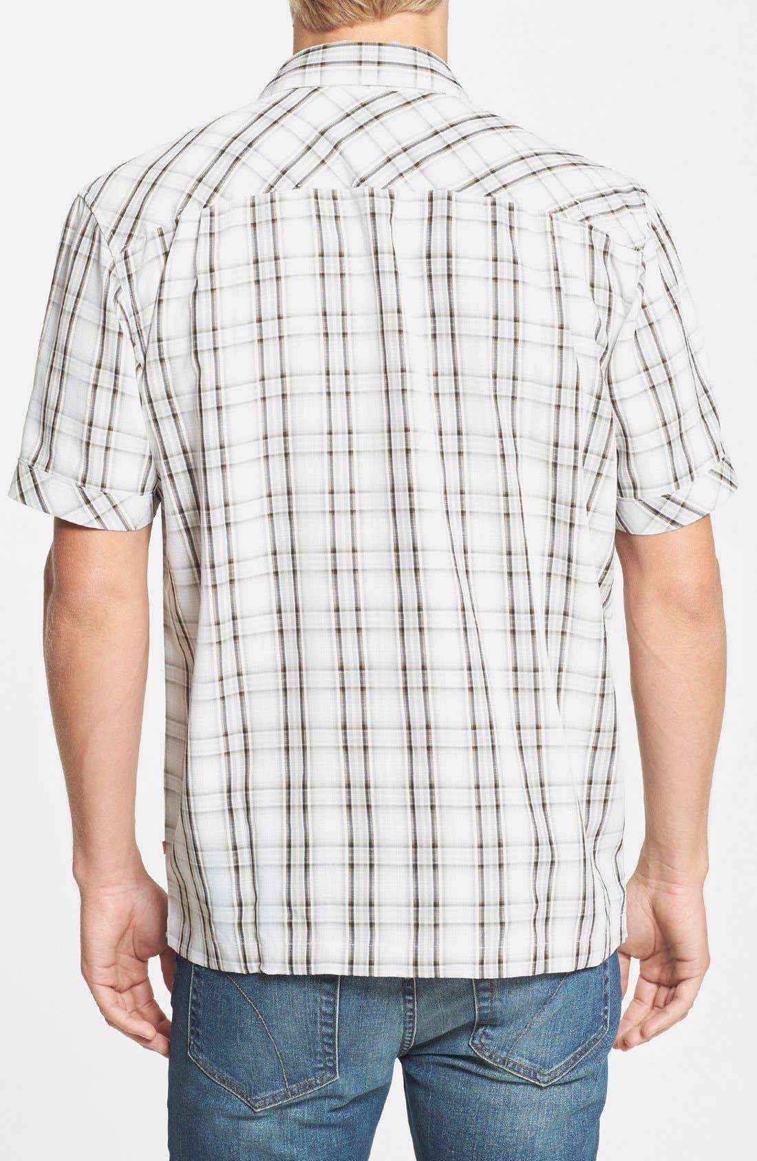 Alternate Image 2  - Quiksilver Waterman Collection 'Seal Rocks' Regular Fit Sport Shirt