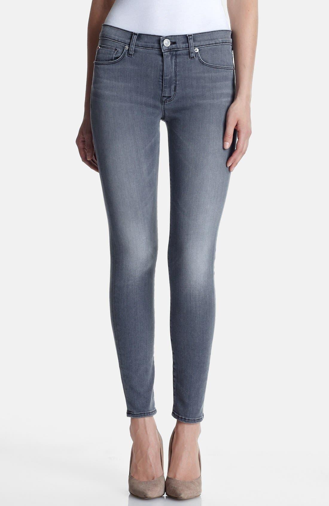 Alternate Image 1 Selected - Hudson Jeans 'Nico' Skinny Stretch Jeans (Rakke)