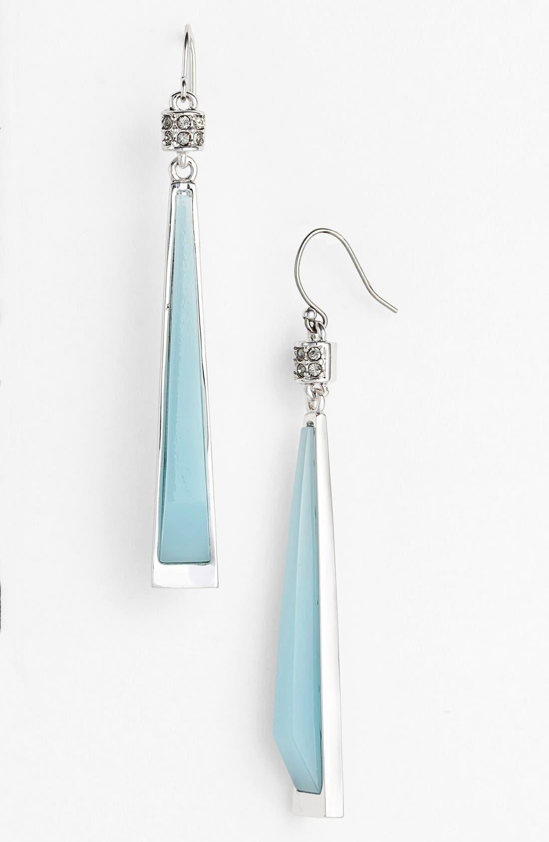 Alternate Image 1 Selected - Vince Camuto 'Blue Steel Silver' Drop Earrings