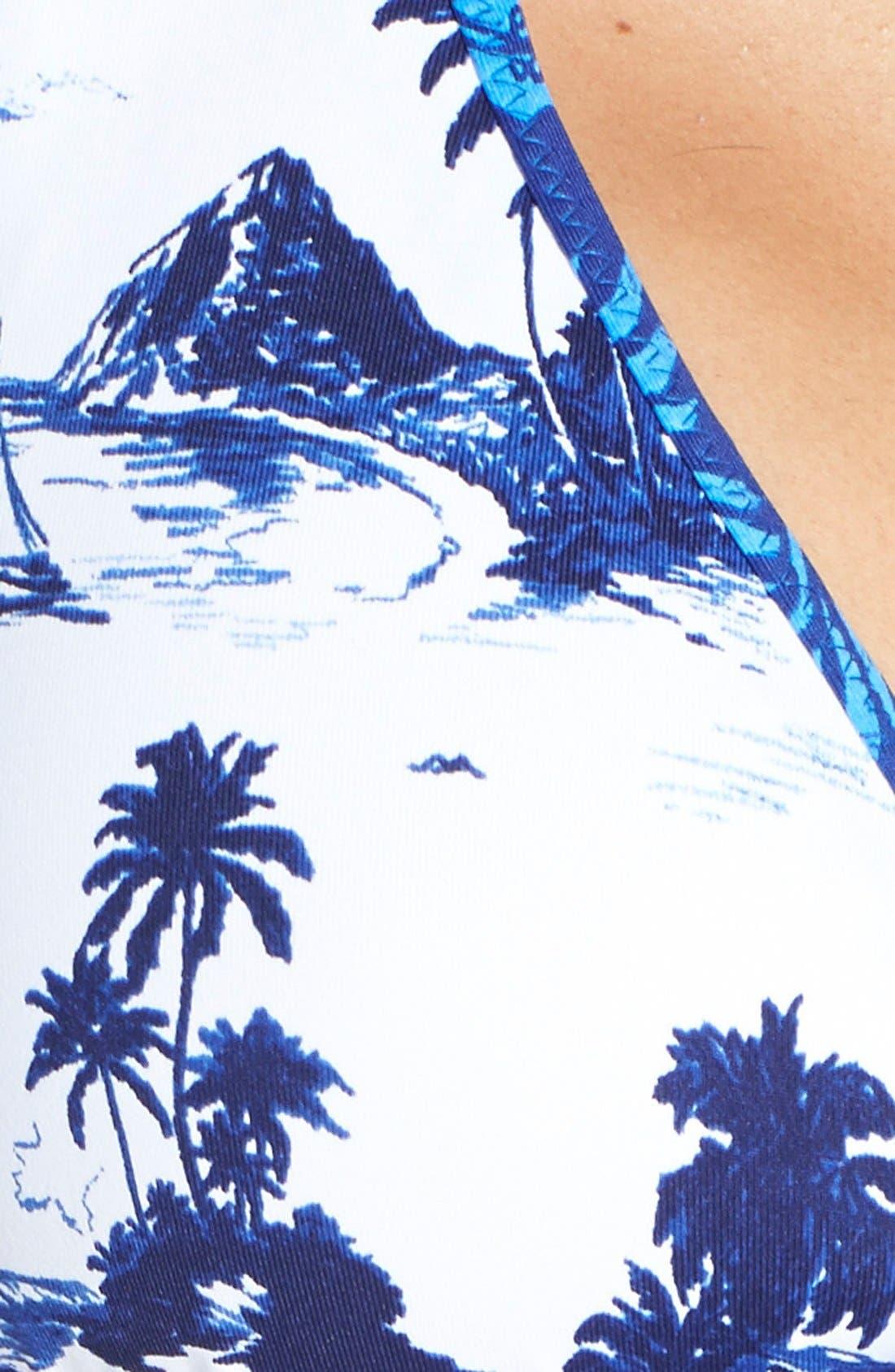Alternate Image 6  - Tommy Bahama Reversible Halter Bikini Top