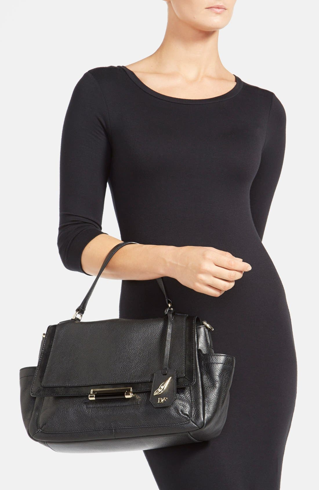 Alternate Image 2  - Diane von Furstenberg '440 Courier' Leather Satchel