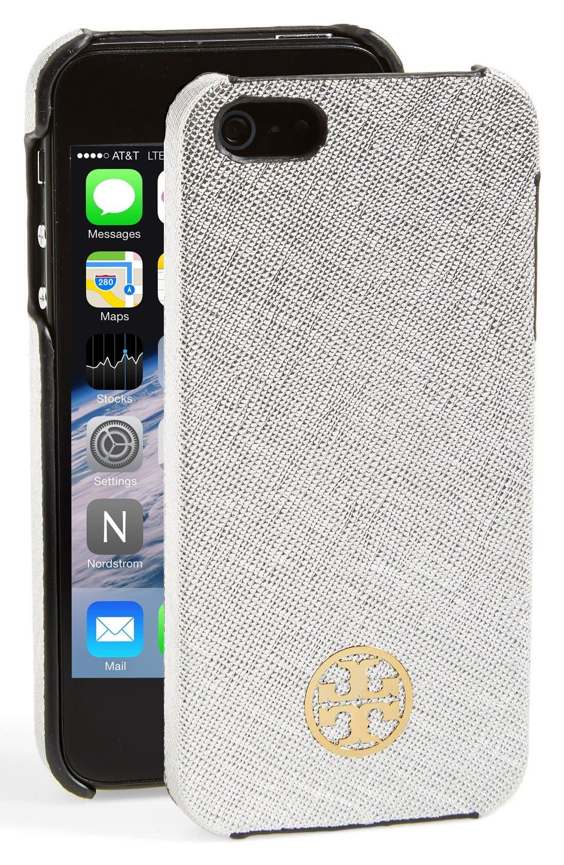 Main Image - Tory Burch 'Robinson' iPhone 5 Case
