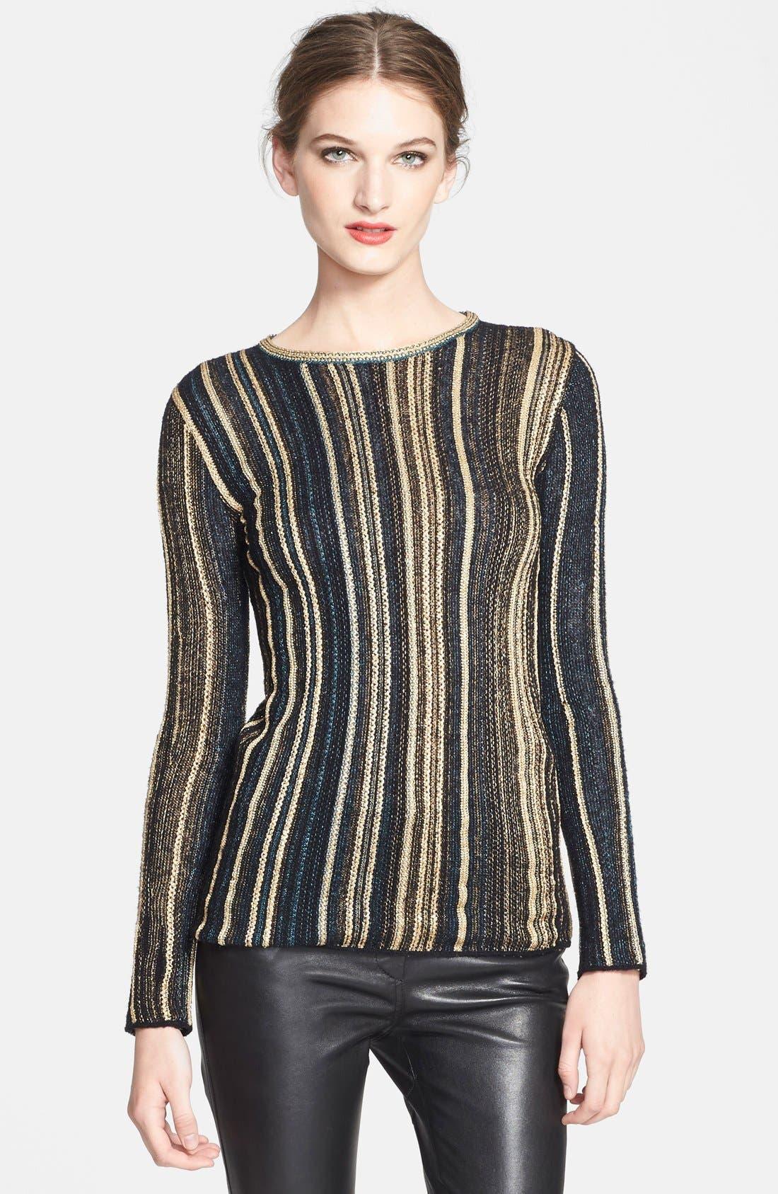 Alternate Image 1 Selected - M Missoni Vertical Stripe Knit Top