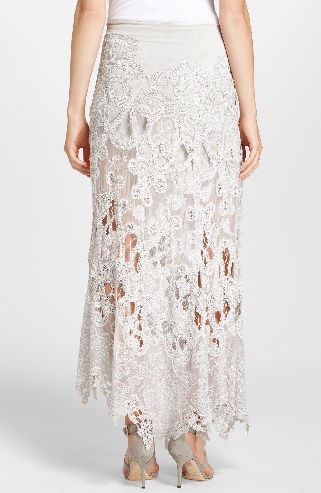 Alternate Image 2  - Donna Karan New York Macramé Lace Skirt