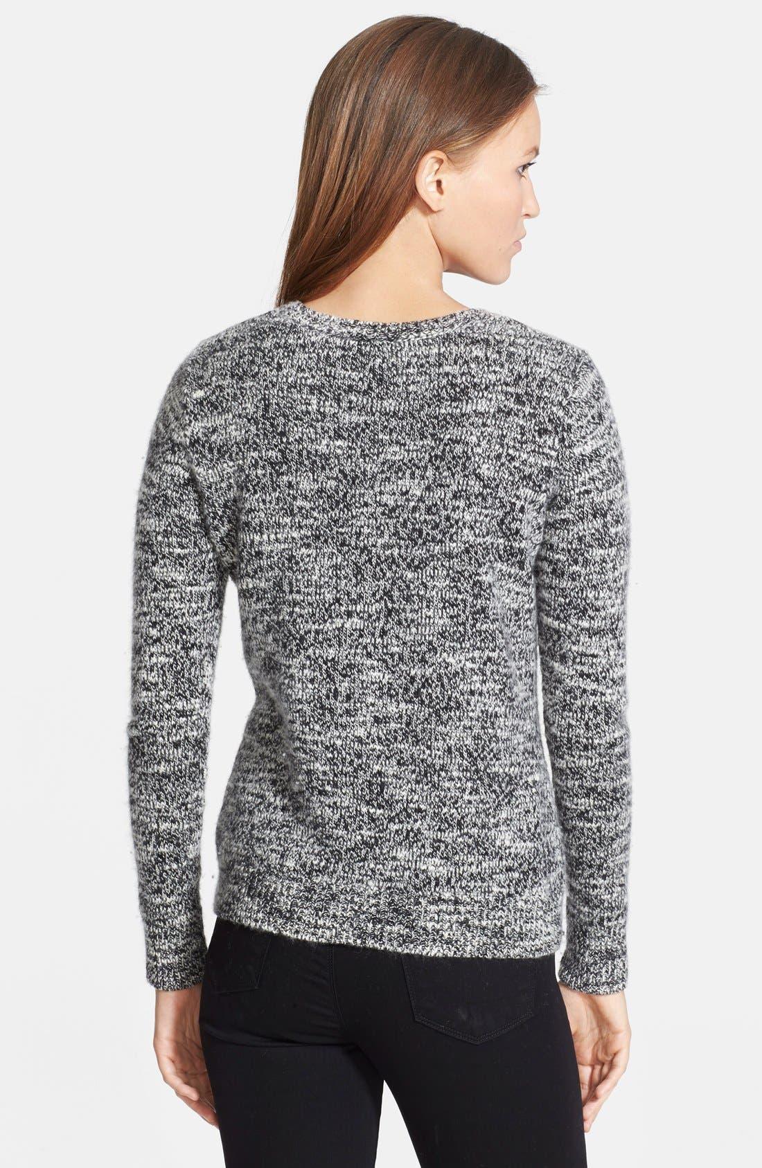 Alternate Image 2  - autumn cashmere Intarsia Knit Cashmere Sweater