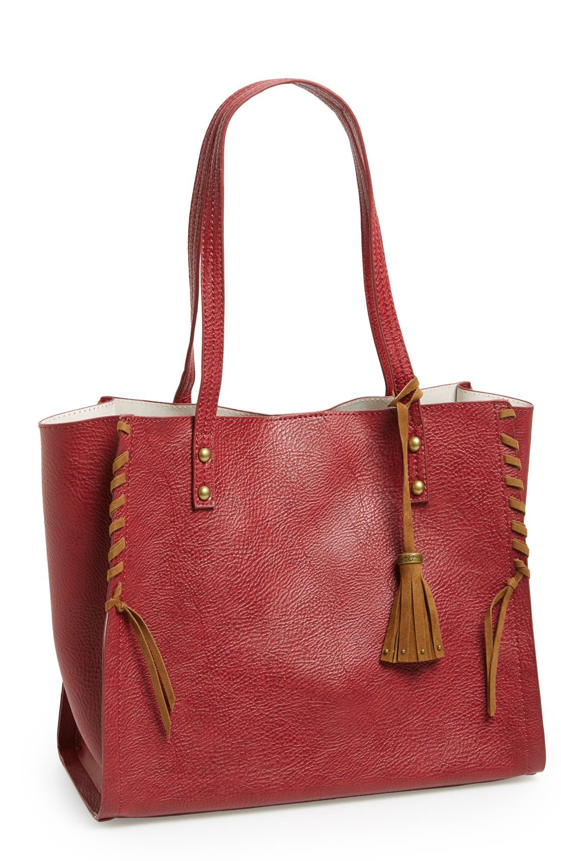 Alternate Image 1 Selected - Jessica Simpson 'Lolita' Whipstitch Tote
