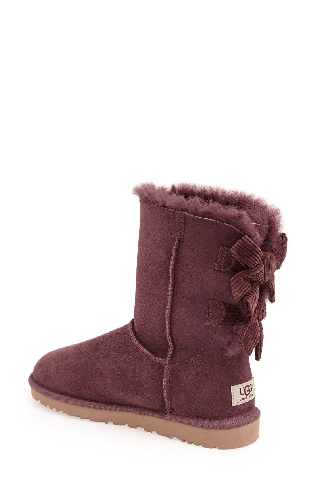 Alternate Image 2  - UGG® Australia 'Bailey Bow Corduroy' Boot (Women)