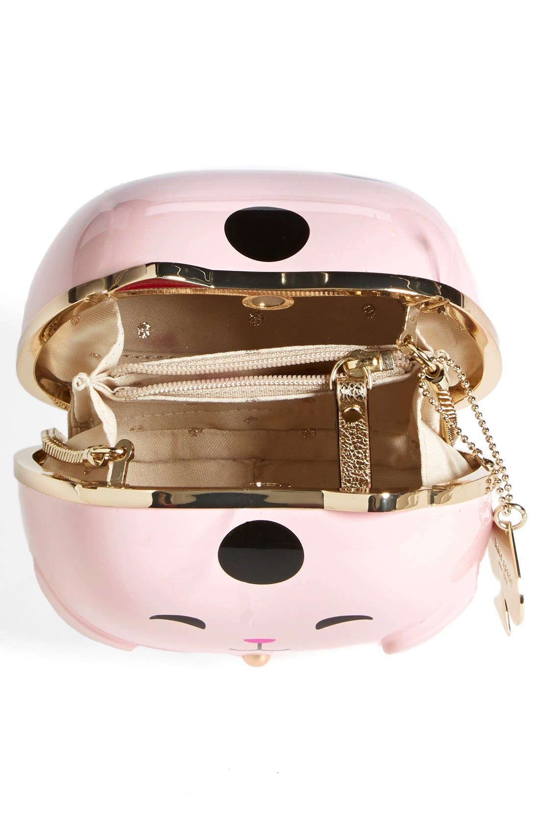 Alternate Image 3  - kate spade new york 'hello tokyo cat' clutch