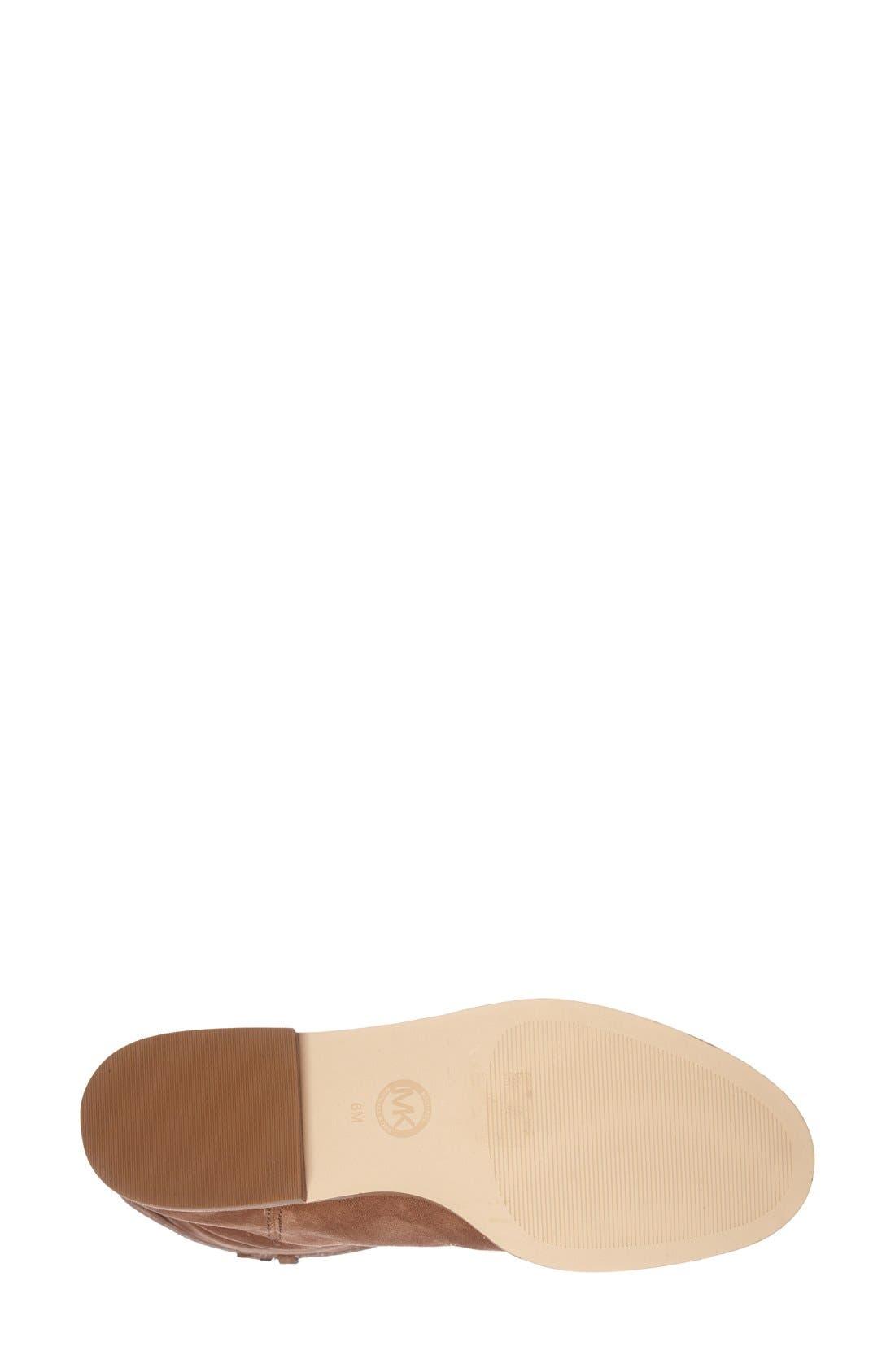 Alternate Image 4  - MICHAEL Michael Kors 'Rhea' Suede Boot (Women)