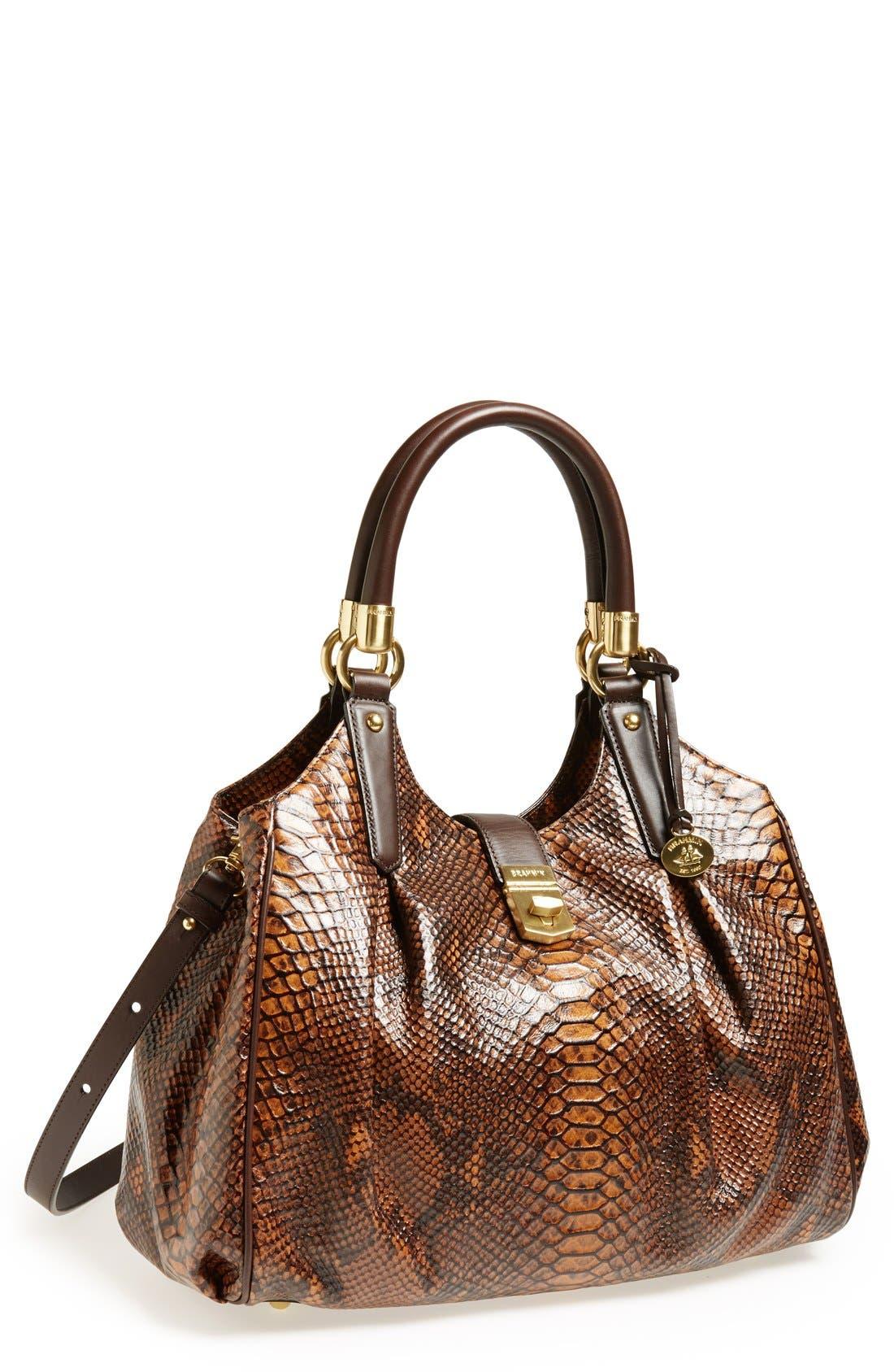 Alternate Image 1 Selected - Brahmin 'Elisa' Leather Shopper