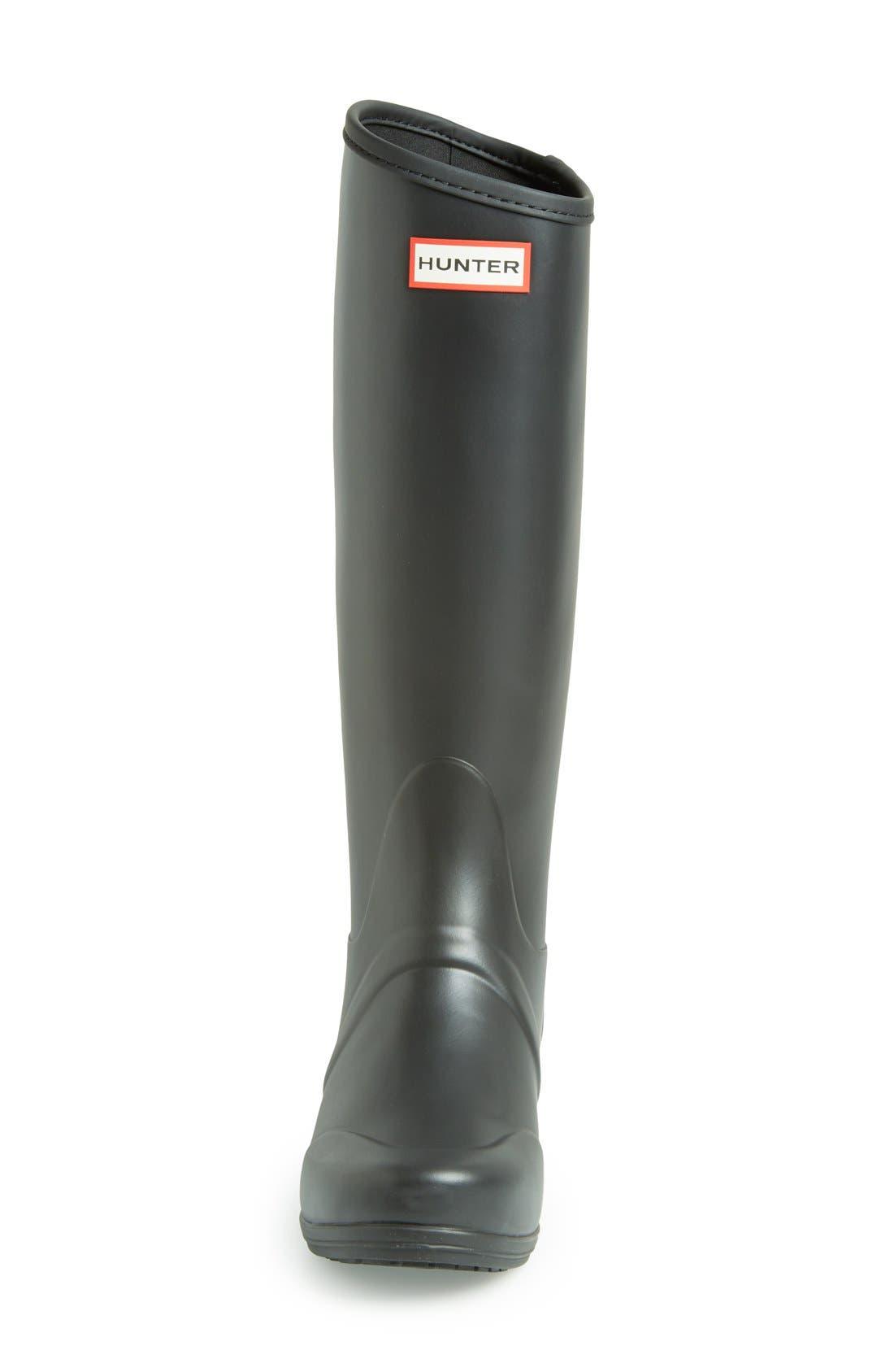 Alternate Image 3  - Hunter 'Sandhurst' Tall Rain Boot (Women)