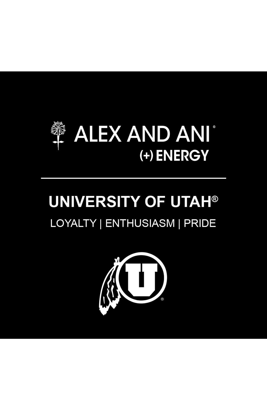 Alternate Image 2  - Alex and Ani 'Collegiate - University of Utah' Expandable Charm Bracelet