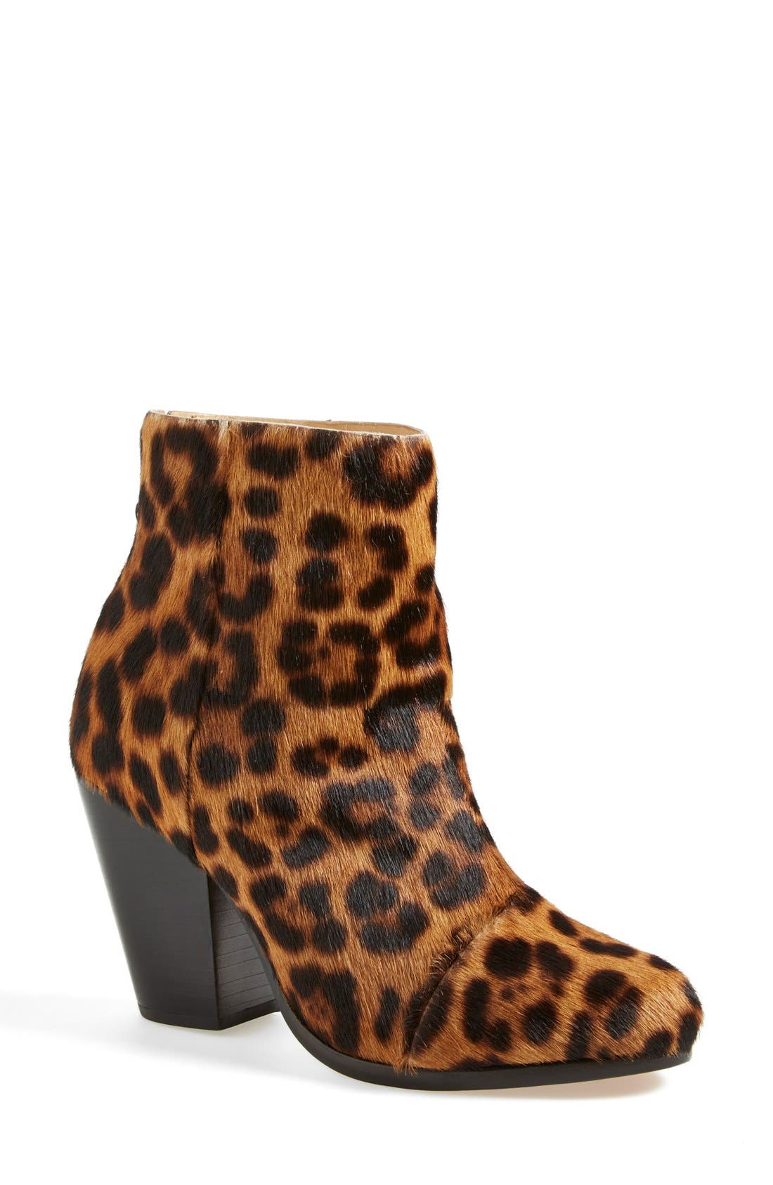 Alternate Image 1 Selected - rag & bone 'Newbury' Genuine Calf Hair Bootie (Women)
