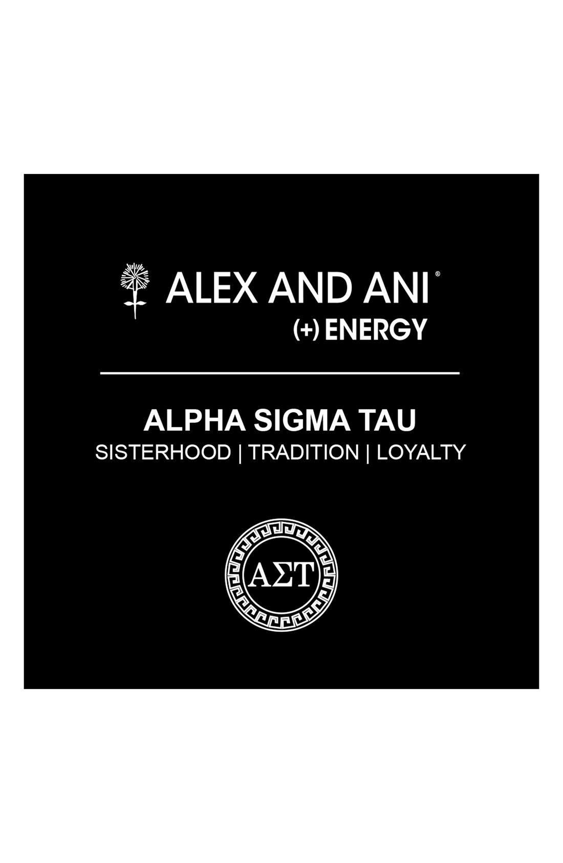 Alternate Image 2  - Alex and Ani 'Collegiate - Alpha Sigma Tau' Expandable Charm Bangle