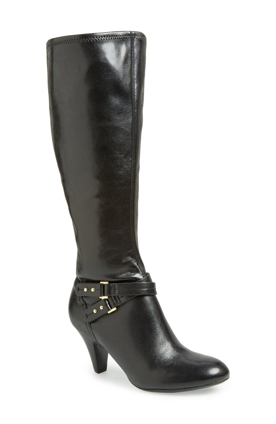 Alternate Image 1 Selected - Naturalizer 'Byron' Knee High Boot (Women)(Wide Calf)