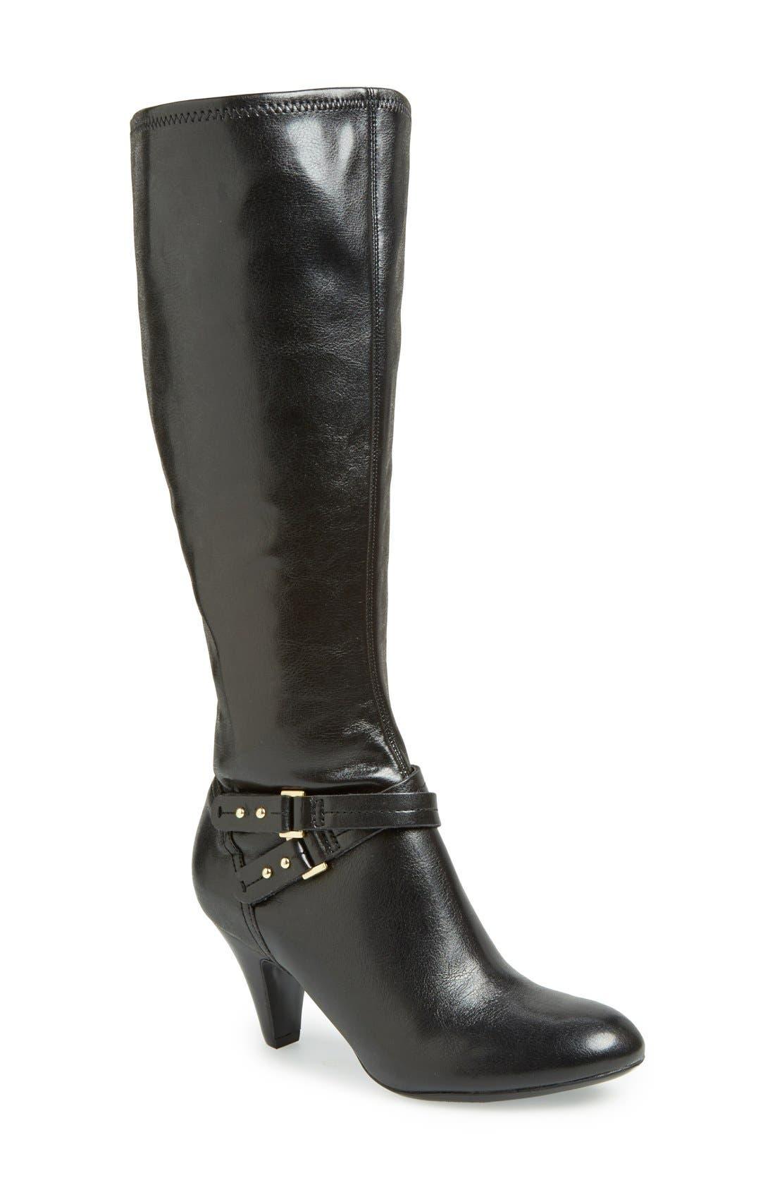 Main Image - Naturalizer 'Byron' Knee High Boot (Women)(Wide Calf)