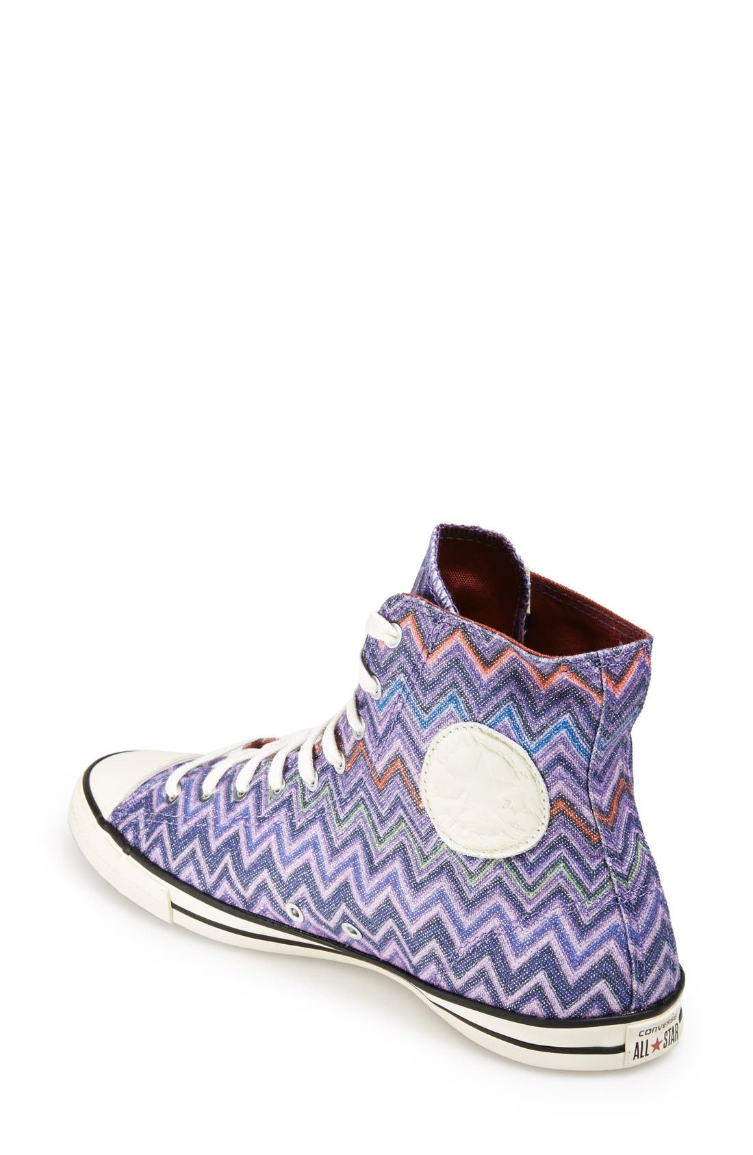 Alternate Image 2  - Converse x Missoni Chuck Taylor® All Star® High Top Sneaker (Women)
