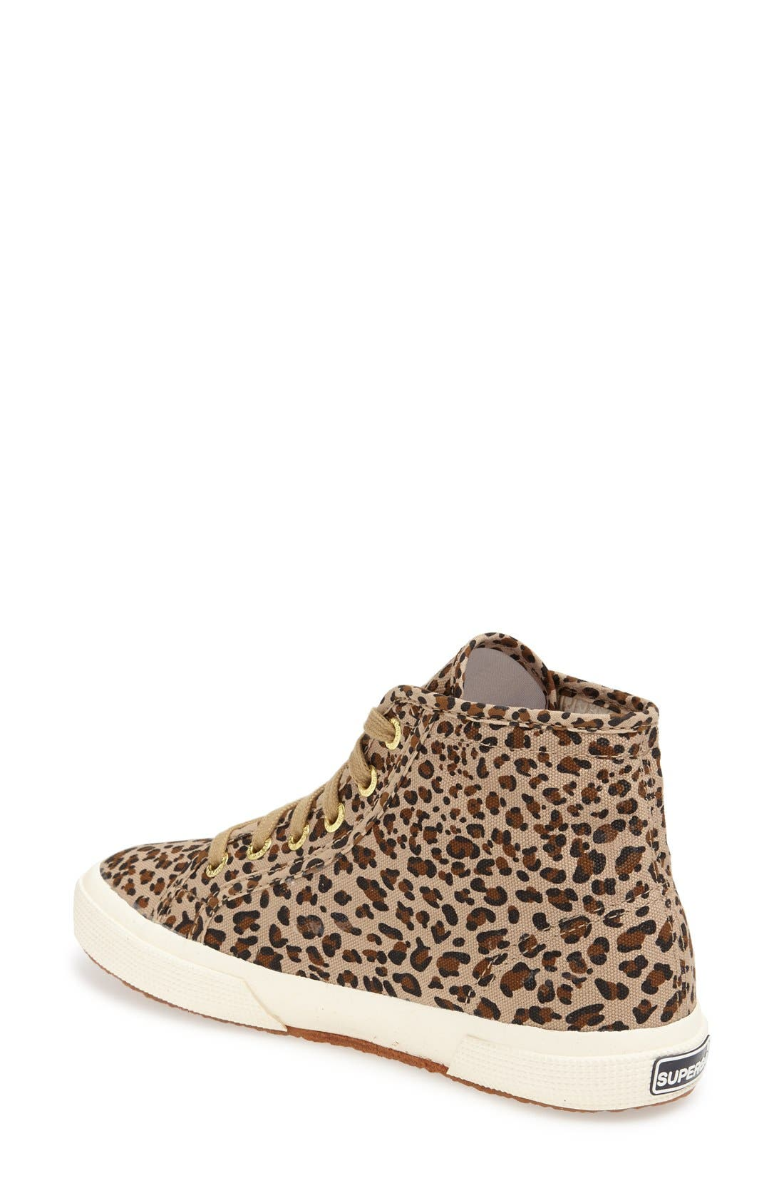 Alternate Image 2  - Superga 'Leo' High Top Sneaker (Women)