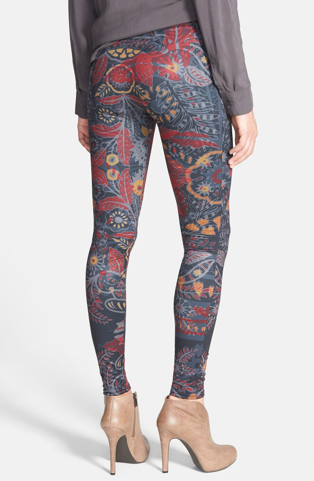 Alternate Image 2  - Arthur George by R. Kardashian 'Fall Botanical' Leggings