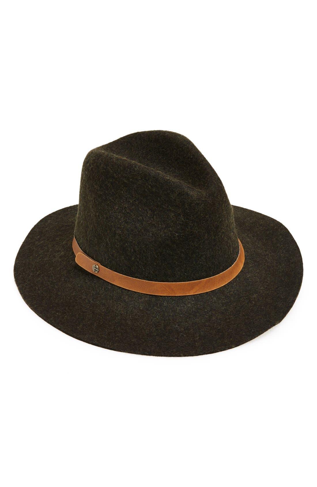 Alternate Image 1 Selected - Billabong 'Better Over Here' Panama Hat