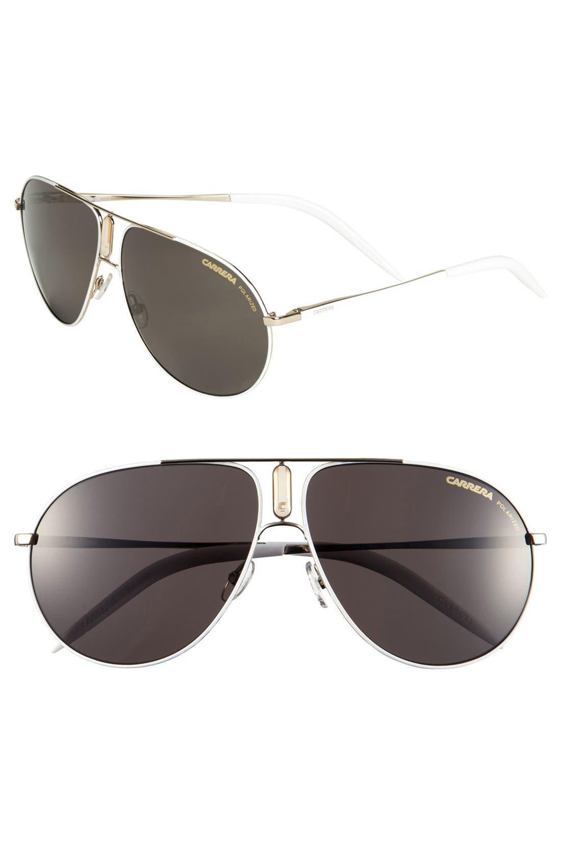 Alternate Image 1 Selected - Carrera Eyewear 61mm Polarized Sunglasses