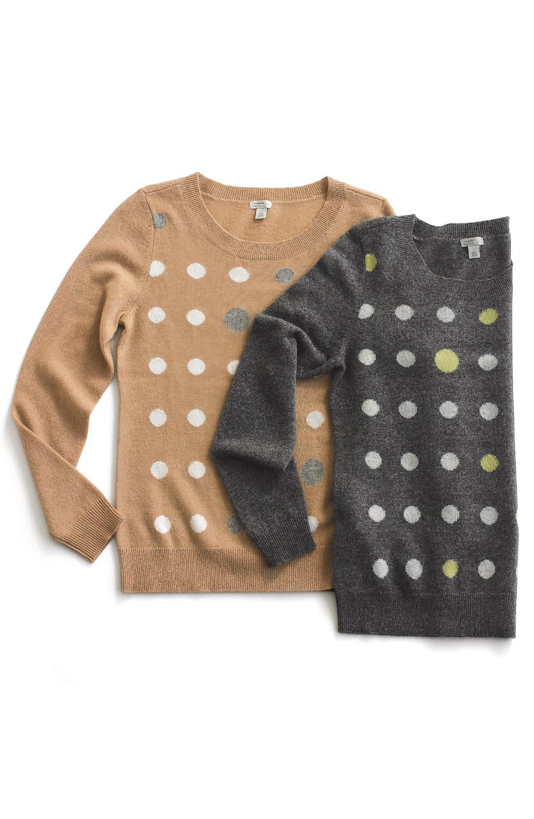 Alternate Image 11  - Halogen® Cashmere Crewneck Sweater (Regular & Petite)