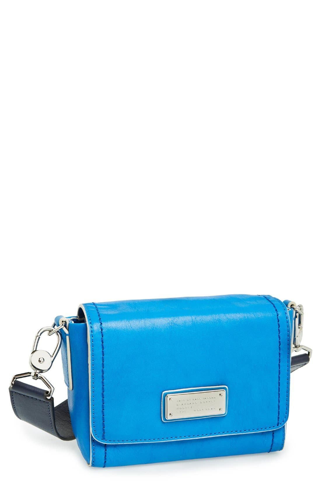 Alternate Image 1 Selected - MARC BY MARC JACOBS 'Mility Utility - Sadie X-Body' Italian Leather Crossbody Bag