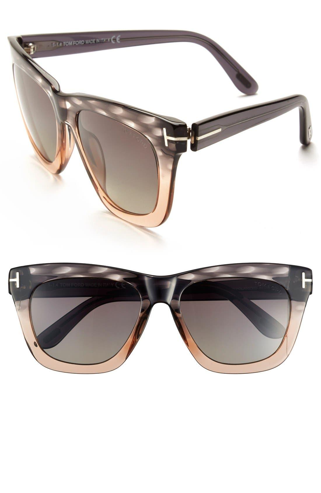 Alternate Image 1 Selected - Tom Ford 'Celina' 55mm Polarized Sunglasses