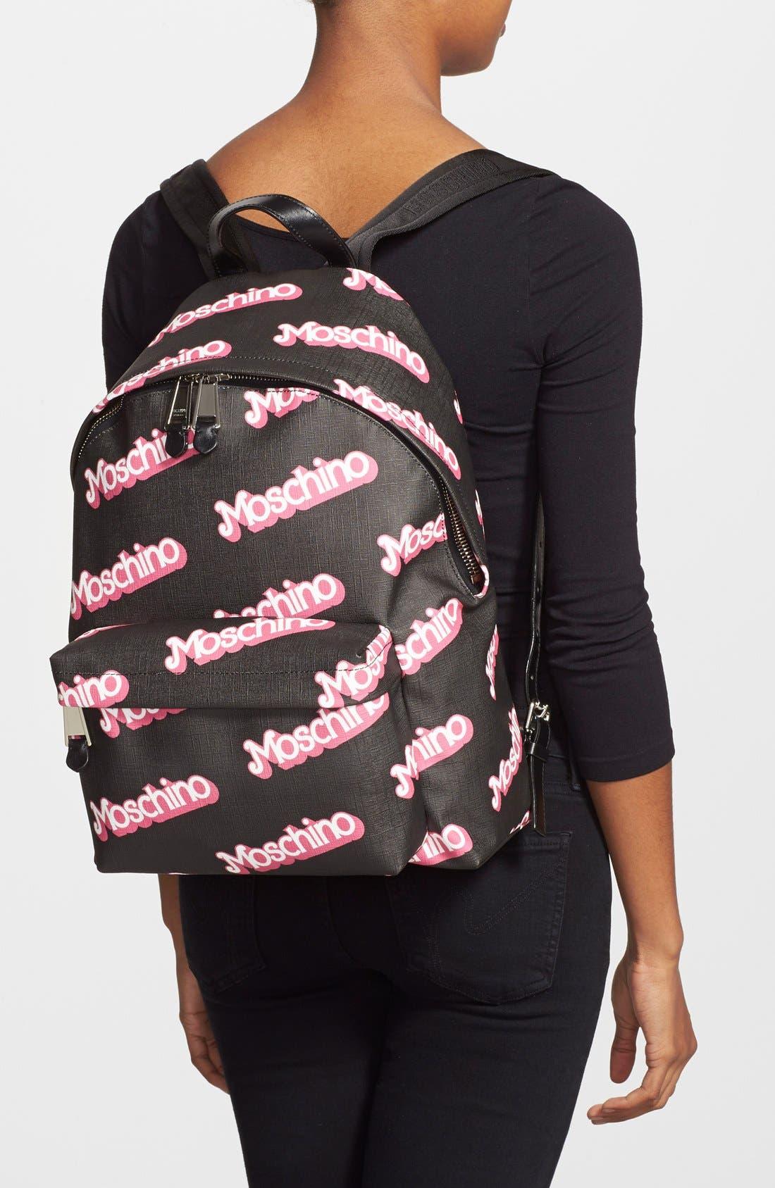 Alternate Image 2  - Moschino Fantasy Print Backpack