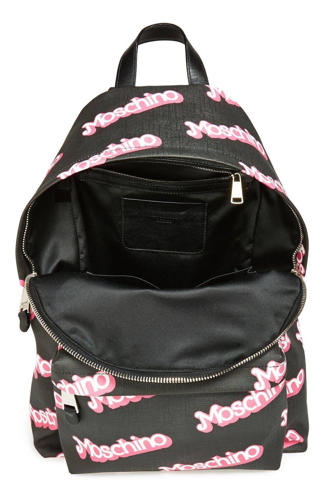 Alternate Image 4  - Moschino Fantasy Print Backpack
