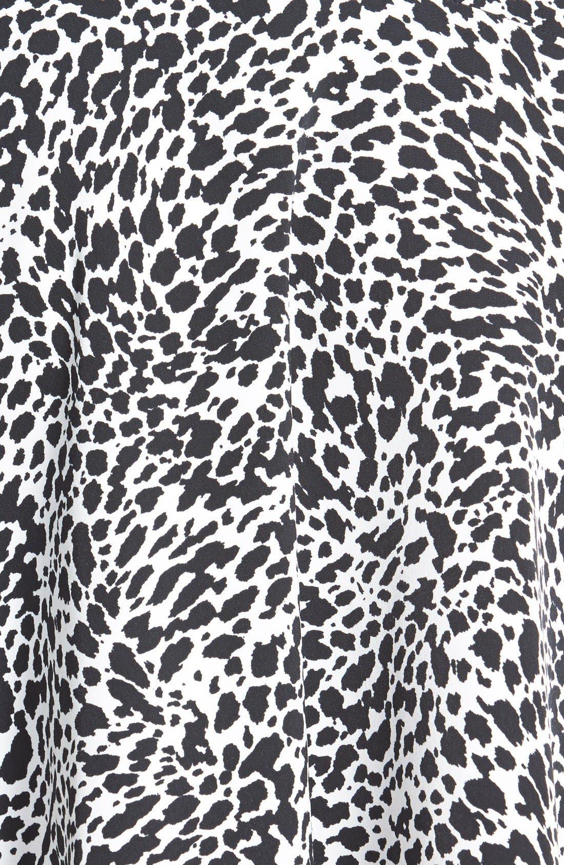 Alternate Image 3  - Vince Camuto 'Animal Flurry' Asymmetrical Flounce Skirt