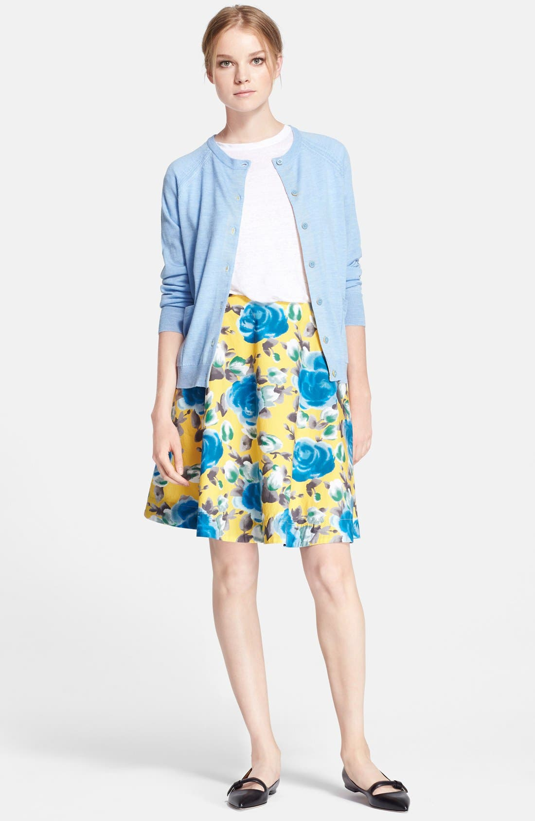 Alternate Image 4  - MARC BY MARC JACOBS Floral Print Circle Skirt