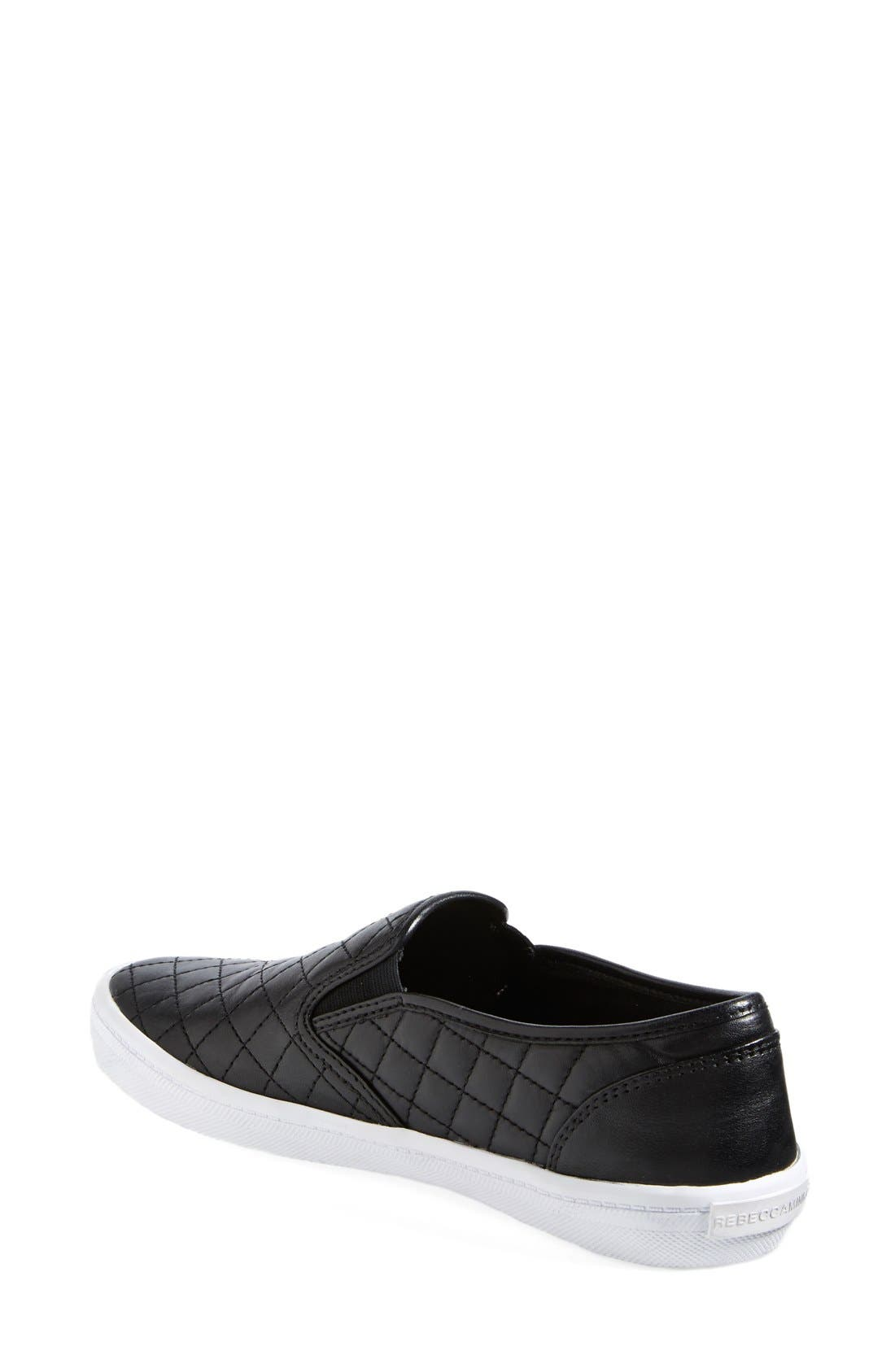 Alternate Image 2  - Rebecca Minkoff 'Sal' Slip-On Leather Sneaker (Women)