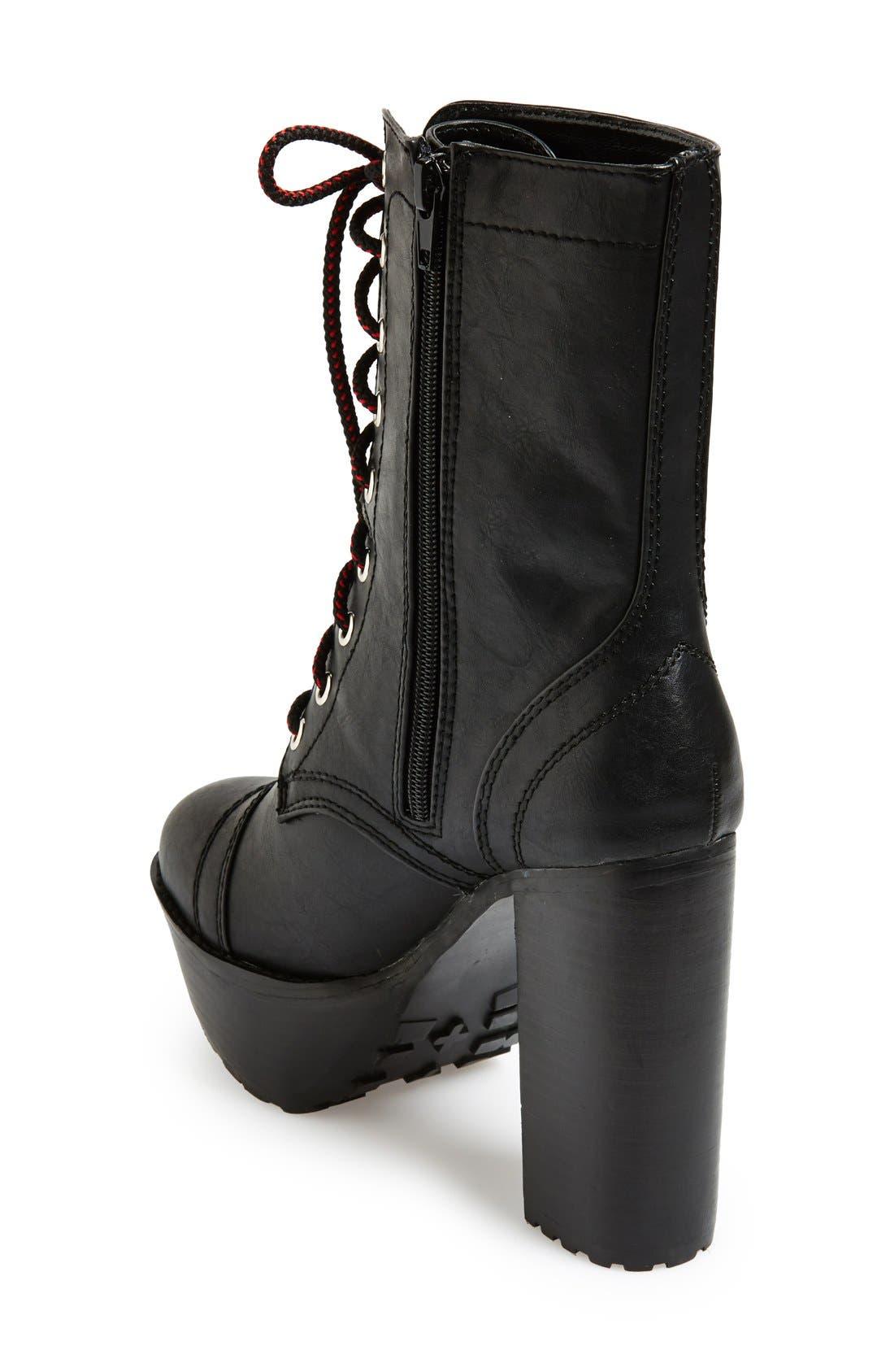 Alternate Image 2  - KENDALL + KYLIE Madden Girl 'Averryy' Platform Mid Boot (Women)