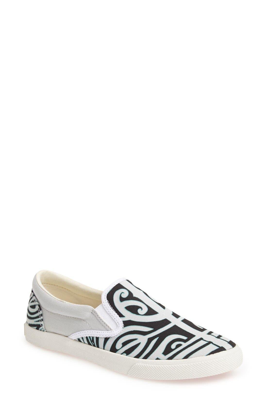 Alternate Image 1 Selected - BucketFeet 'Tatau' Slip-On Canvas Sneaker (Women)